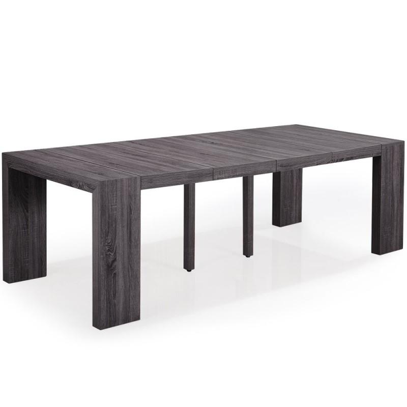 table console nassau xl bois vintage british deco. Black Bedroom Furniture Sets. Home Design Ideas