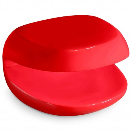 Table basse design Jet Rouge