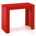 Table Console Brookline Rouge