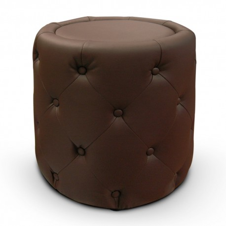 Pouf Colonade Marron